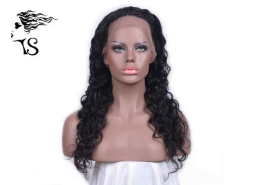 Ritus Indian Indian Remy Full Human Hair Wig Deep Wave untuk African American