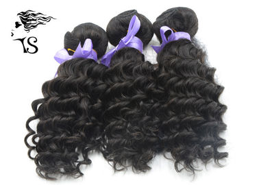 Grade 8A Brazilian Weft Hair Extensions, Deep Wave Curly Human Hair Extensions